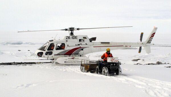 Yeni Zelanda'nın Antarktika'daki araştırma üssü Scott Base - Sputnik Türkiye