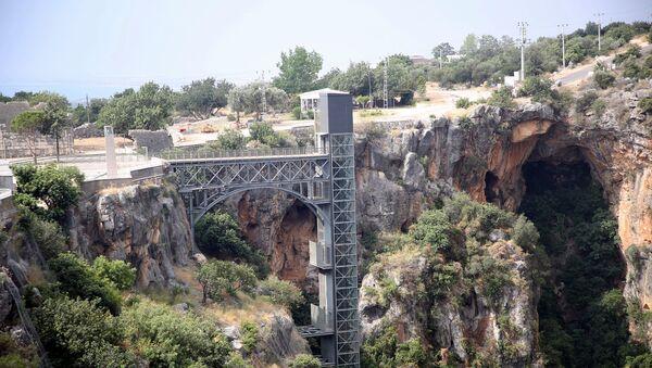 Cennet Mağarası'na inen asansör - Sputnik Türkiye