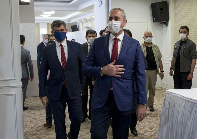 Adalet Bakanı Abdulhamit Gül - Türkiye Barolar Birliği (TBB) Başkanı Metin Feyzioğlu