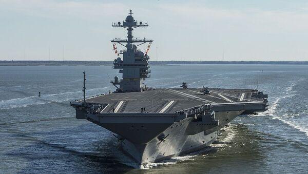 USS Gerald R. Ford (CVN-78) - Sputnik Türkiye