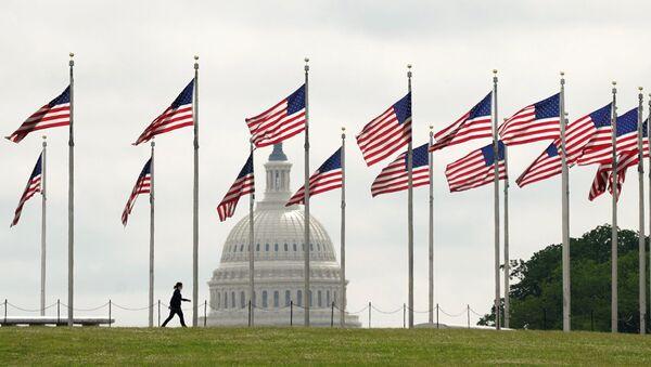 ABD-bayrak-Washington - Sputnik Türkiye