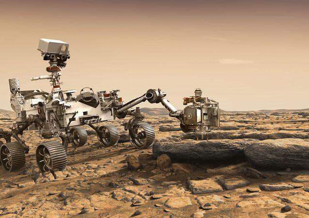 Mars keşif aracı Perseverance