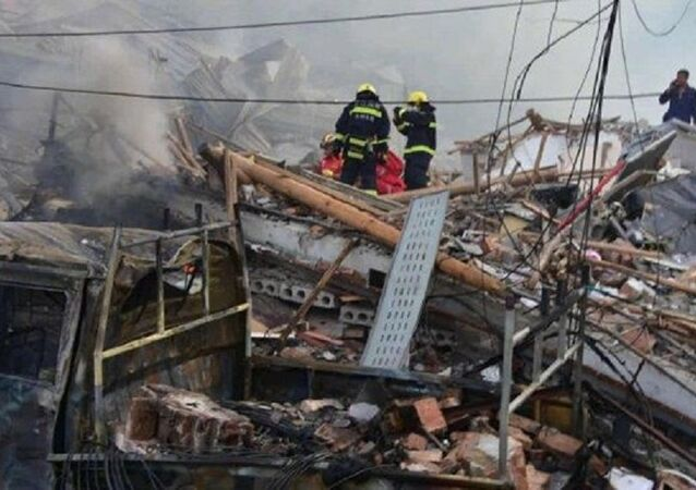 Çin'de otoyolda tankerde patlama: 10 ölü, 117 yaralı