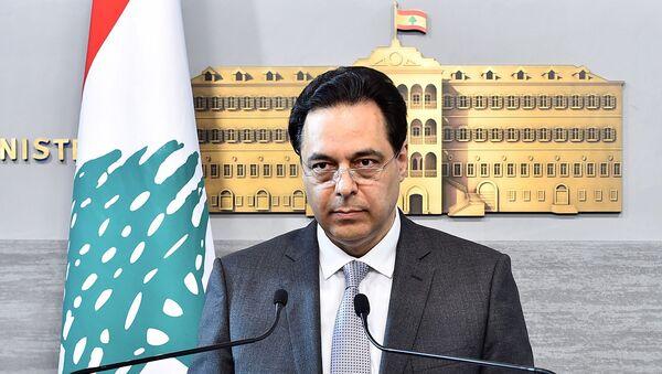 Lübnan Başbakanı Hassan Diyab - Sputnik Türkiye