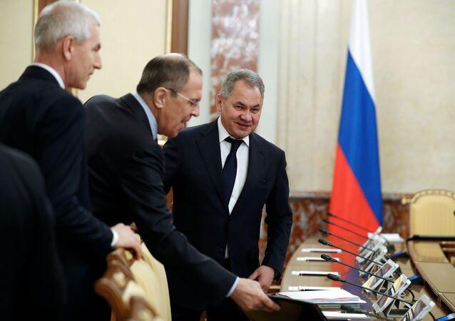 Rusya Dışişleri Bakanı Lavrov ve Savunma Bakanı Şoygu