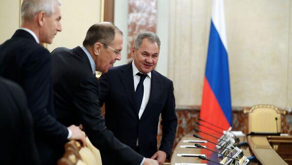 Rusya Dışişleri Bakanı Lavrov ve Savunma Bakanı Şoygu  - Sputnik Türkiye