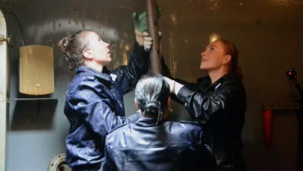 Rusya'nın Karadeniz Filosu'nda görevli kadınlar - Sputnik Türkiye