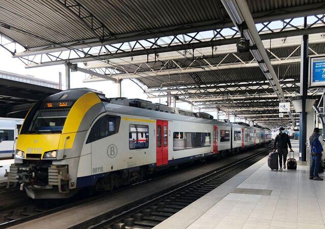 Belçika-tren istasyonu