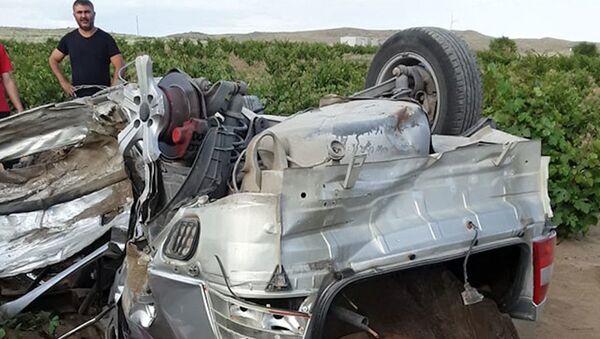 Köpeğe çarpmamak için şerit değiştirdi: 2 ölü, 3 yaralı - Sputnik Türkiye
