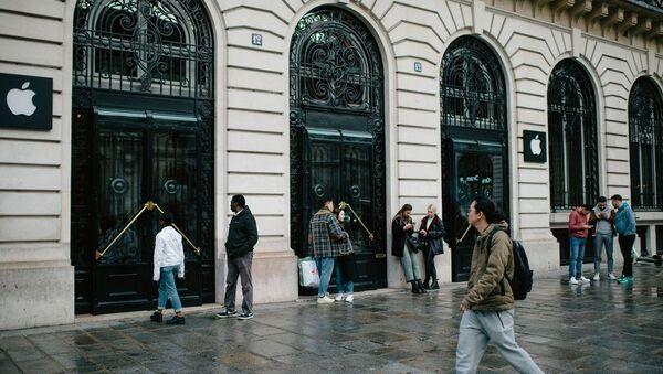 Paris Apple Store - Sputnik Türkiye