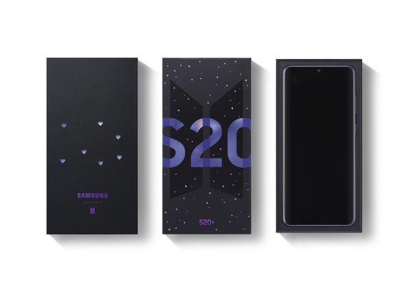 Samsung'dan Galaxy S20+ ve Galaxy Buds+ BTS özel serisi: 'Mutluluk ve eğlence kaynağı olmasını umuyoruz' - Sputnik Türkiye