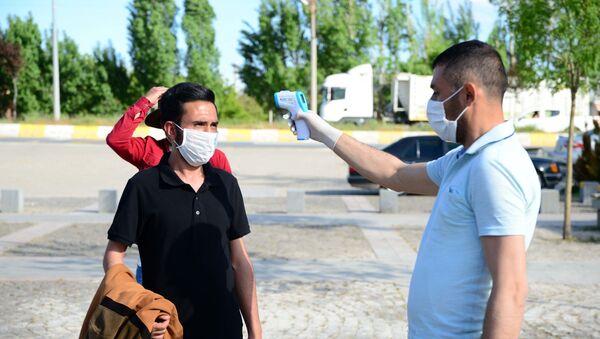 Bitlis - koronavirüs - maske - Sputnik Türkiye