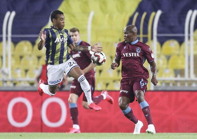 Ziraat Türkiye Kupası yarı final rövanş maçında Fenerbahçe ile Trabzonspor, Ülker Stadı'nda karşı karşıya geldi