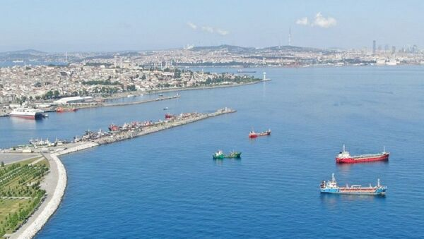 İstanbul, gemi - Sputnik Türkiye