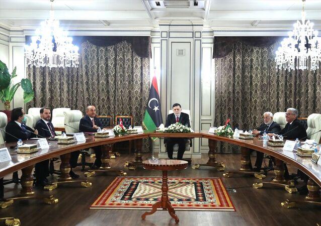 Bakan Çavuşoğlu, Türk heyetinin Libya ziyaretini değerlendirdi