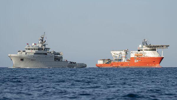 Fransa savaş gemisi - Sputnik Türkiye