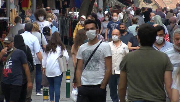 Türkiye'de koronavirüs, Maske - Sputnik Türkiye