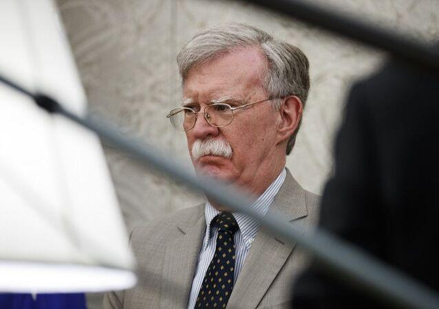 ABD'nin eski Ulusal Güvenlik Danışmanı John Bolton