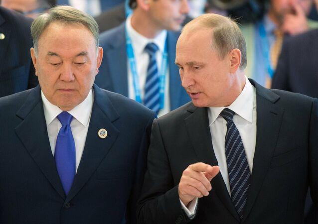 Nursultan Nazarbayev-Vladimir Putin