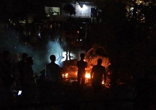 Suriye'nin kuzeyindeki Afrin'de bombalı araç saldırısı