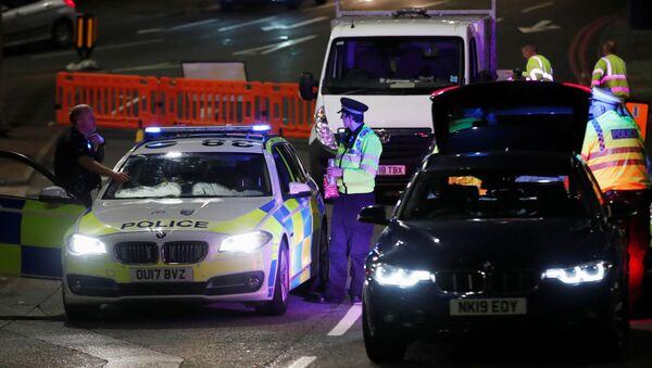 İngiltere'nin başkenti Londra yakınlarındaki Reading kasabasında gerçekleşen ve 3 kişinin ölümüyle sonuçlananbıçaklı saldırı - Sputnik Türkiye