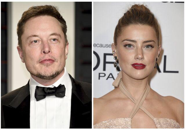 Elon Musk ve Amber Heard