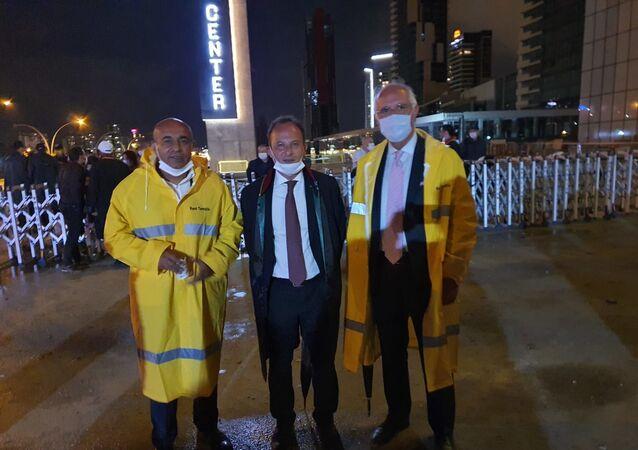 Mansur Yavaş'tan baro başkanlarına çorba ve yağmurluk