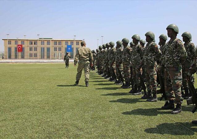 Somali'nin başkenti Mogadişu'daki Türk askeri eğitim üssü