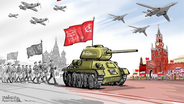24 Haziran, askeri geçit - Sputnik Türkiye