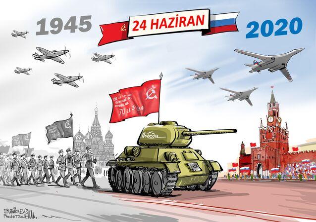 24 Haziran, askeri geçit
