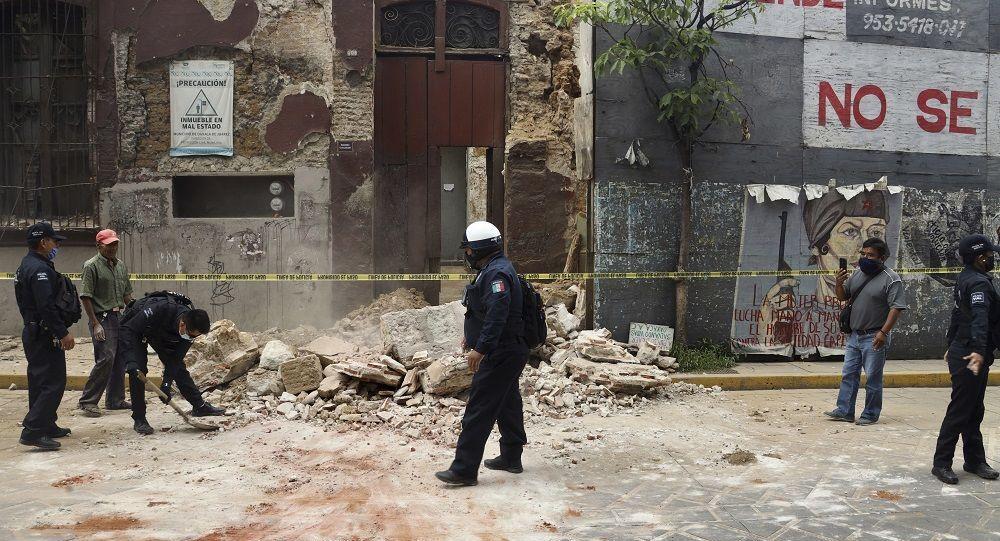 Meksika'da 7,5  büyüklüğünde deprem