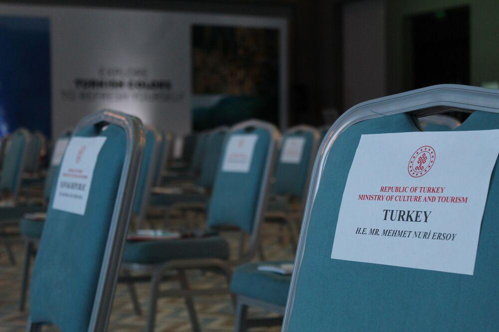 Antalya'da gerçekleştirilen 'Yeniden Keşfet' tanıtım etkinliği'nden bir kare.
