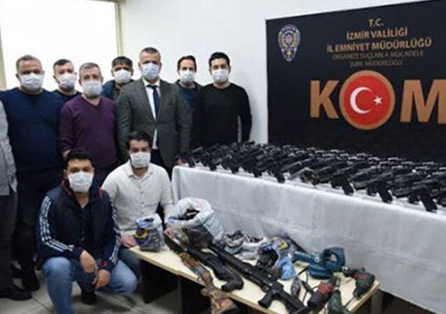 Uluslararası silah kaçakçılığı yapan örgüte operasyon: 13 gözaltı