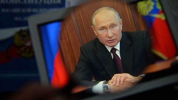 Vladimir Putin, ulusa sesleniş - Sputnik Türkiye