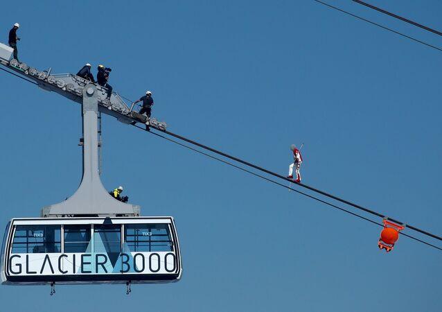 İsviçreli akrobat Freddy Nock