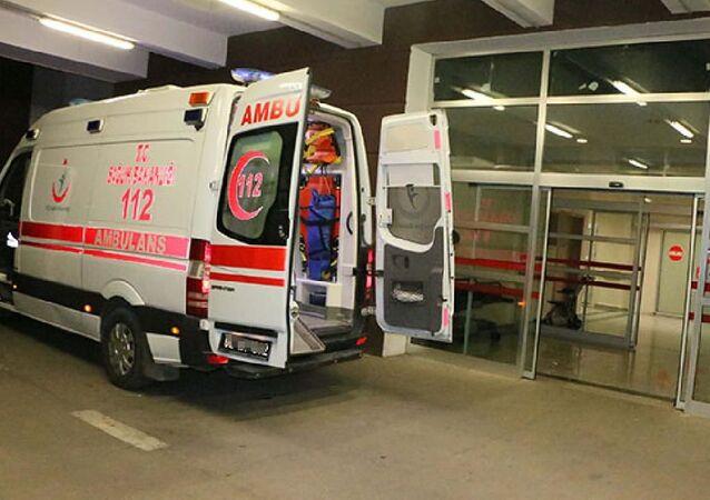 Koronavirüs, Hastane, Ambulans