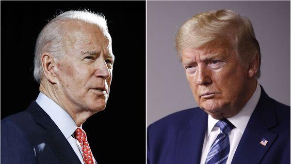Joe Biden - Donald Trump - Sputnik Türkiye
