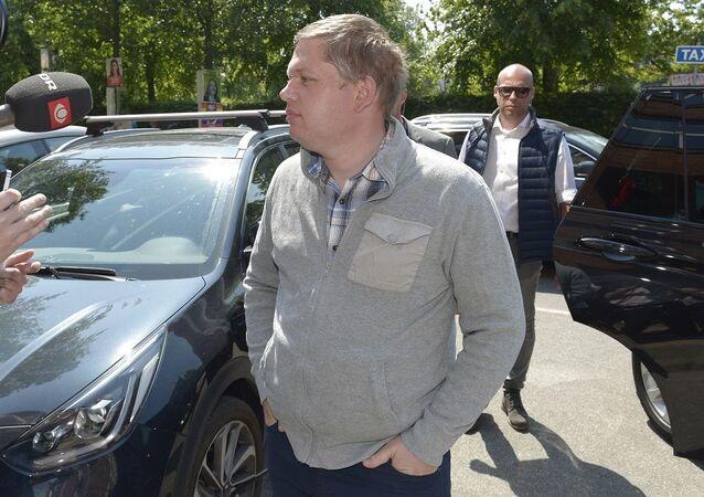 Danimarka'da İslam karşıtı eylemlerin sembol ismi ve aşırı sağcı Stram Kurs lideri Rasmus Paludan