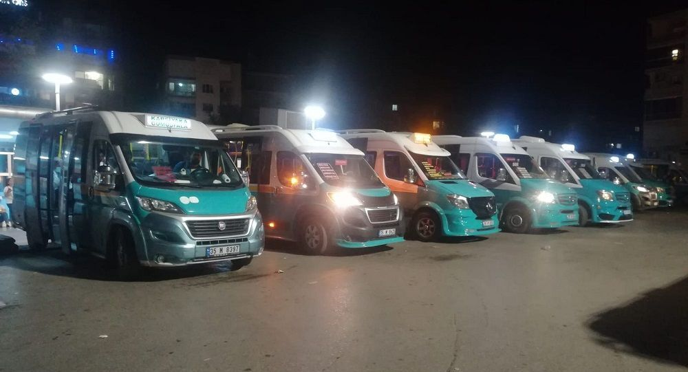 İzmir'de minibüs şoförleri koronavirüs testi yaptıracak