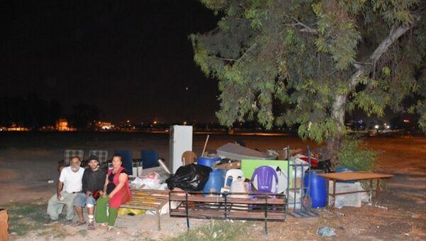 Adana'da kirasını ödeyemeyen aile sokakta kaldı - Sputnik Türkiye