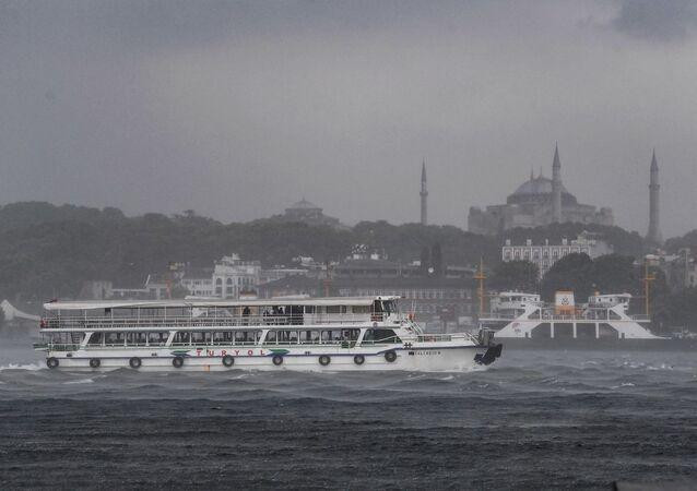 İstanbul - Boğaz - vapur - Karaköy
