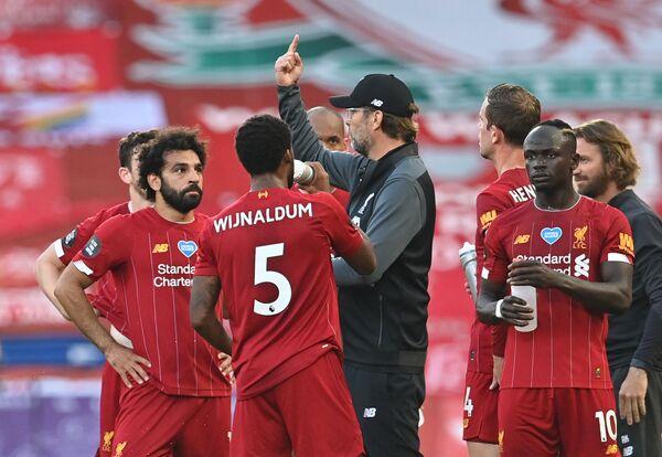 Liverpool 30 yıllık şampiyonluk özlemini rekorlarla dindirdi - Sputnik Türkiye