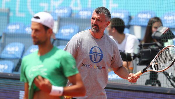 Novak Djokovic'in antrenörü ve eski Wimbledon şampiyonu Goran Ivanisevic - Sputnik Türkiye