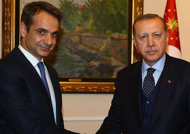 Cumhurbaşkanı Erdoğan, Yunanistan Başbakanı Miçotakis