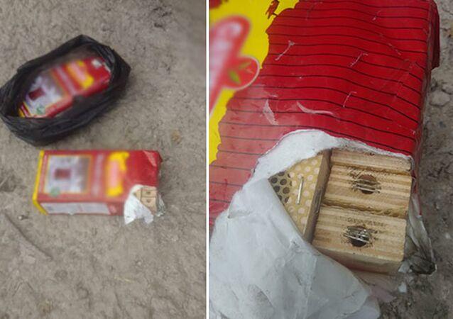 Amasya'da TIR'daki çay paketlerinden arı çıktı