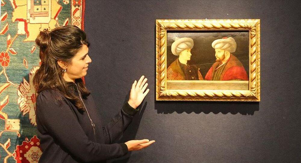 Fatih Sultan Mehmet portresi