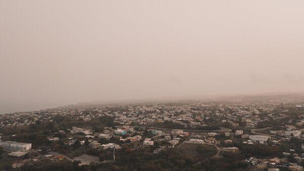 ABD'yi kaplayan Sahra Çölünden toz bulutu - Sputnik Türkiye