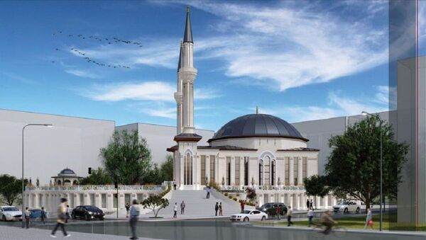 Kızılay'a cami projesi - Sputnik Türkiye