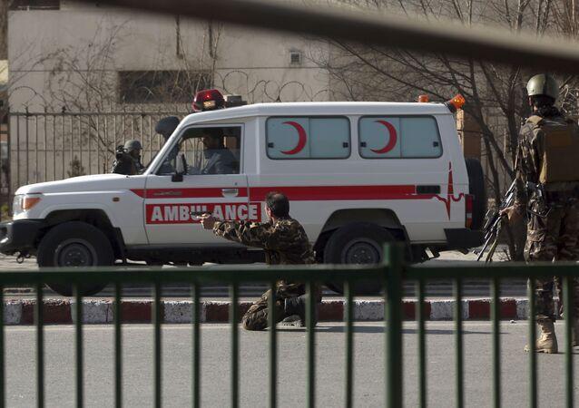 Afganistan - ambulans