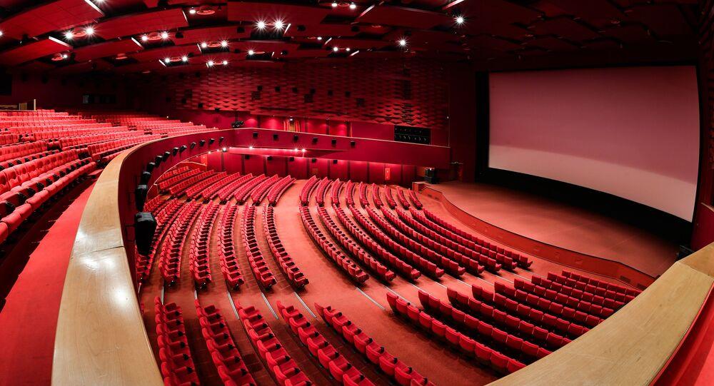 Karo Film Oktyabr Sinema Salonu, Moskova, Rusya